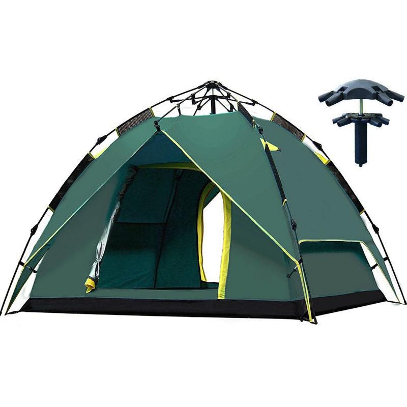2-3 Person Automatic Family Portable Camping Tents for Outdoor hiking