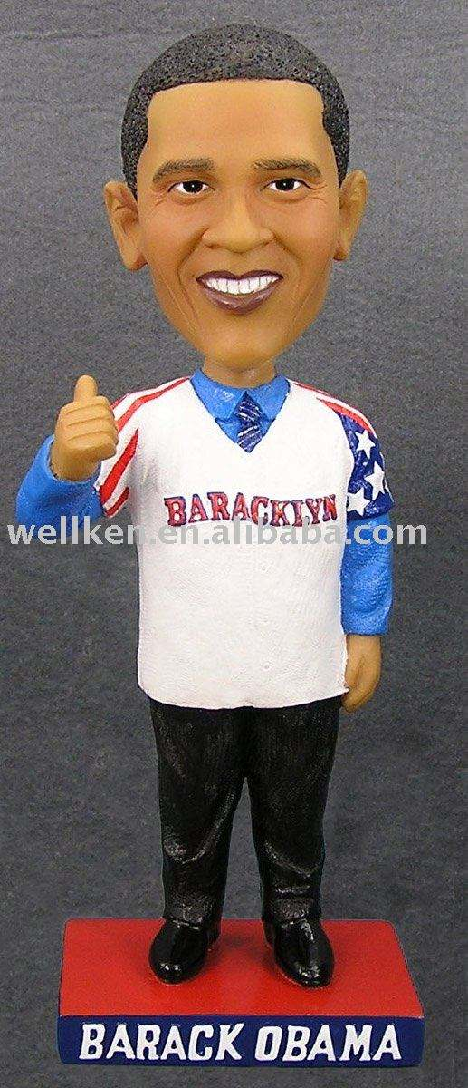 Polyresin Barack Obama <span class=keywords><strong>bobble</strong></span> kafa