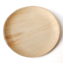 New arrival Unbreakable eco  dinner plates disposable  wooden plates palm leaf plates disposable