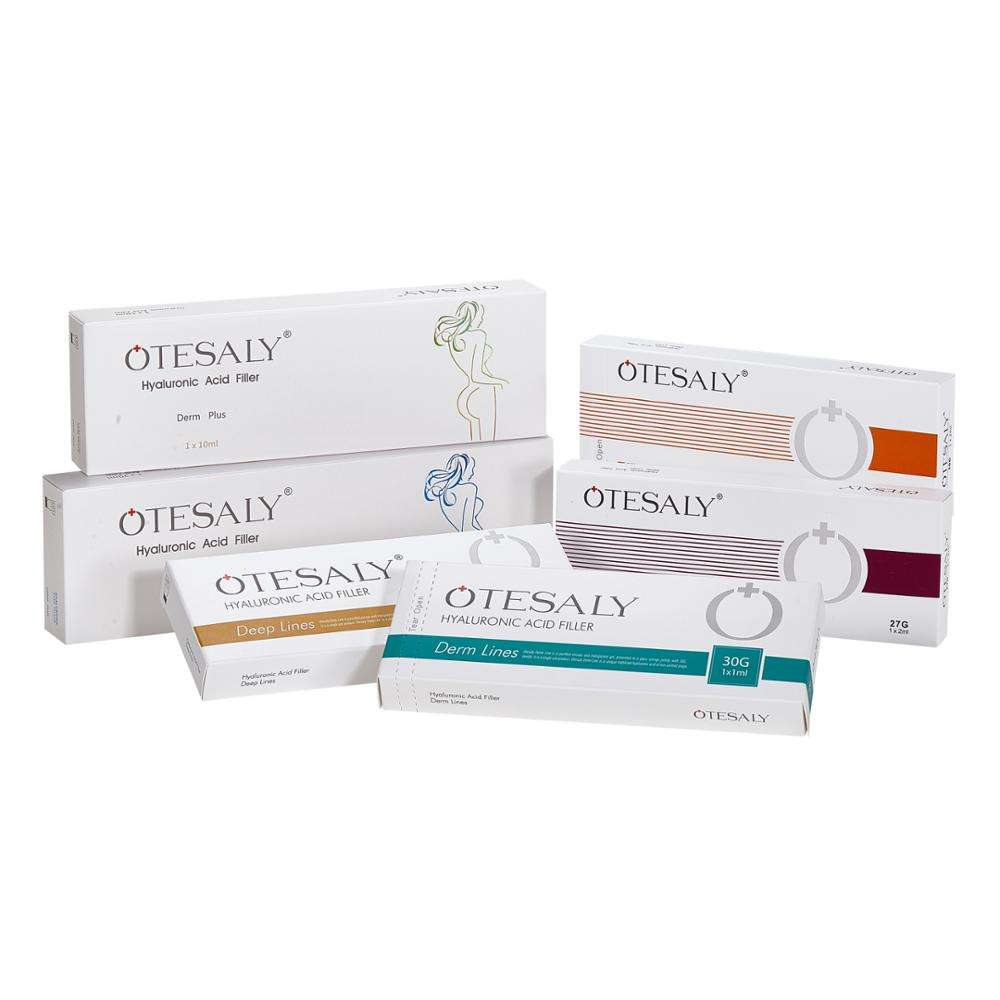 OTESALY Cross Linked Hyaluronic Acid Injection for Lips Enhancer with BD Syringe Injectable Dermal Filler