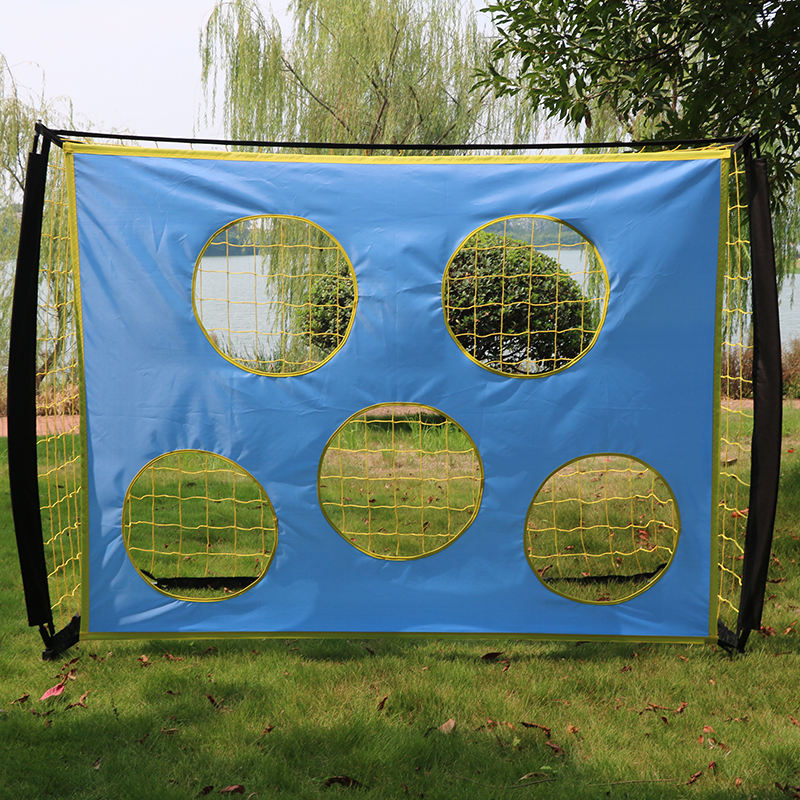 High - Quality Portable Durable Customized Soccer Net Target Goal Shot For Training
