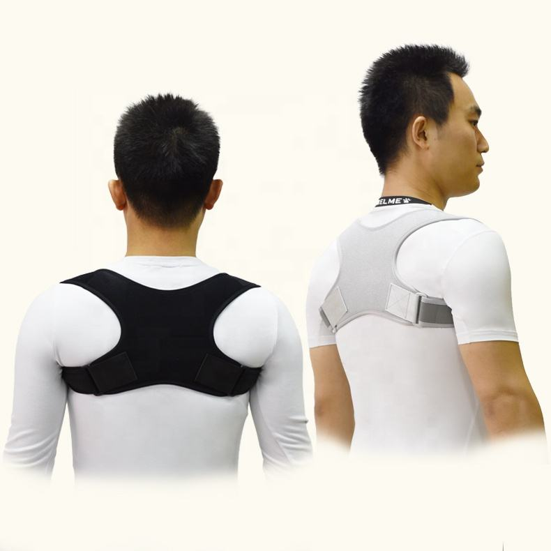 Gangsheng 2020 Back Corrector Clavicle Support Posture Neoprene Clavicle Brace