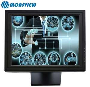 17 polegada Monitor Touch Screen Com USB Controlador EGALAX