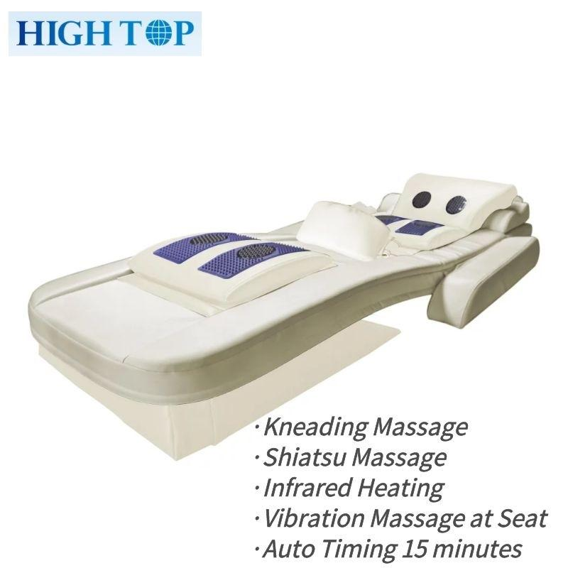 Soft Multiple Function Healthy full body kneading Japan shiatsu massage bed with heating vibration mattress