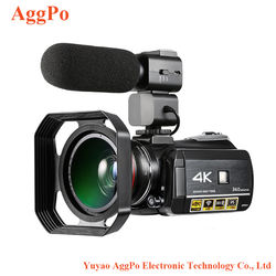Professional Waterproof 4k China Digital Camera, 4K camera hd professional digital live broadcasting camera with microphone