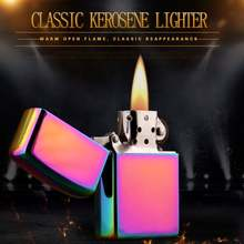 yanzhen China manufacturers directly removable metal wind proof kerosene lighters wholesale 101Symphony