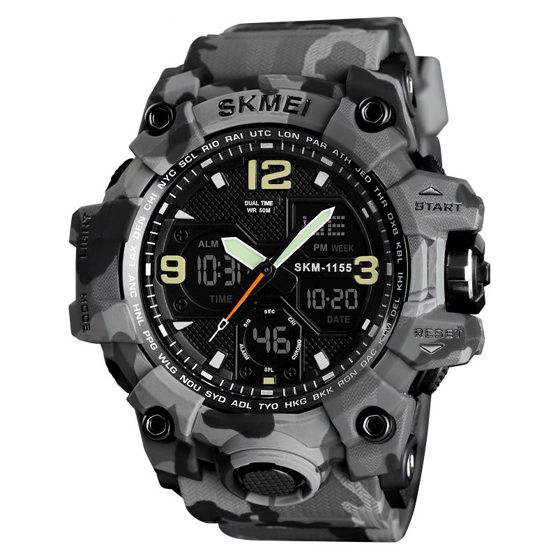 SKMEI 1155 Jam Tangan Military Electronic Waterproof Digital Sports Watches