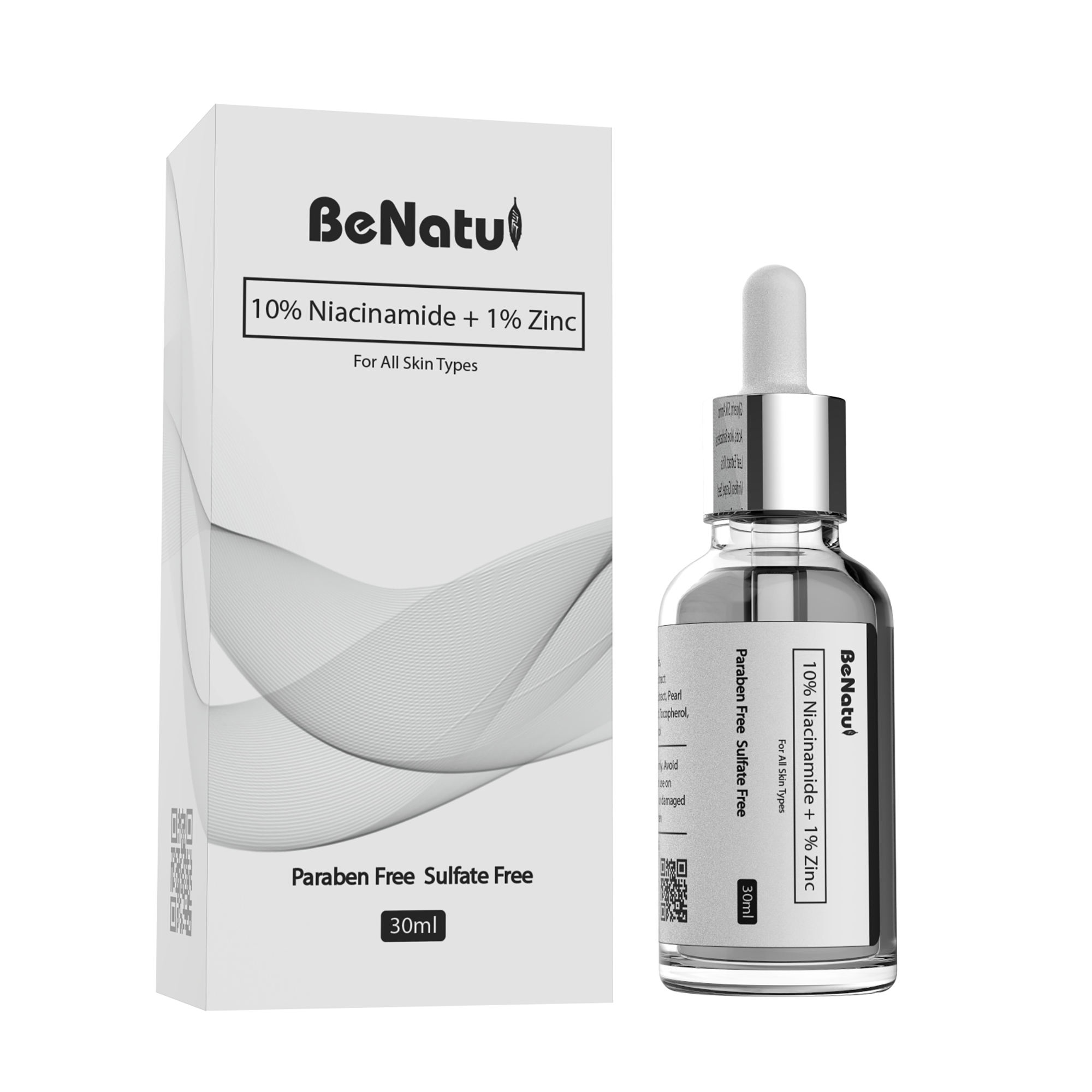 Professional formula 10% Niacinamide +1% Zinc Serum best selling face serum with private labels