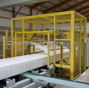 Horizontale Orbitale Stretch Wrapper, Spiral Wrapping Machine