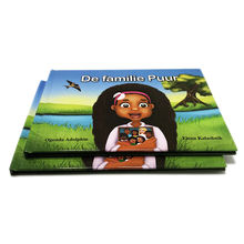 OEM Printing hardbound and card board kid book