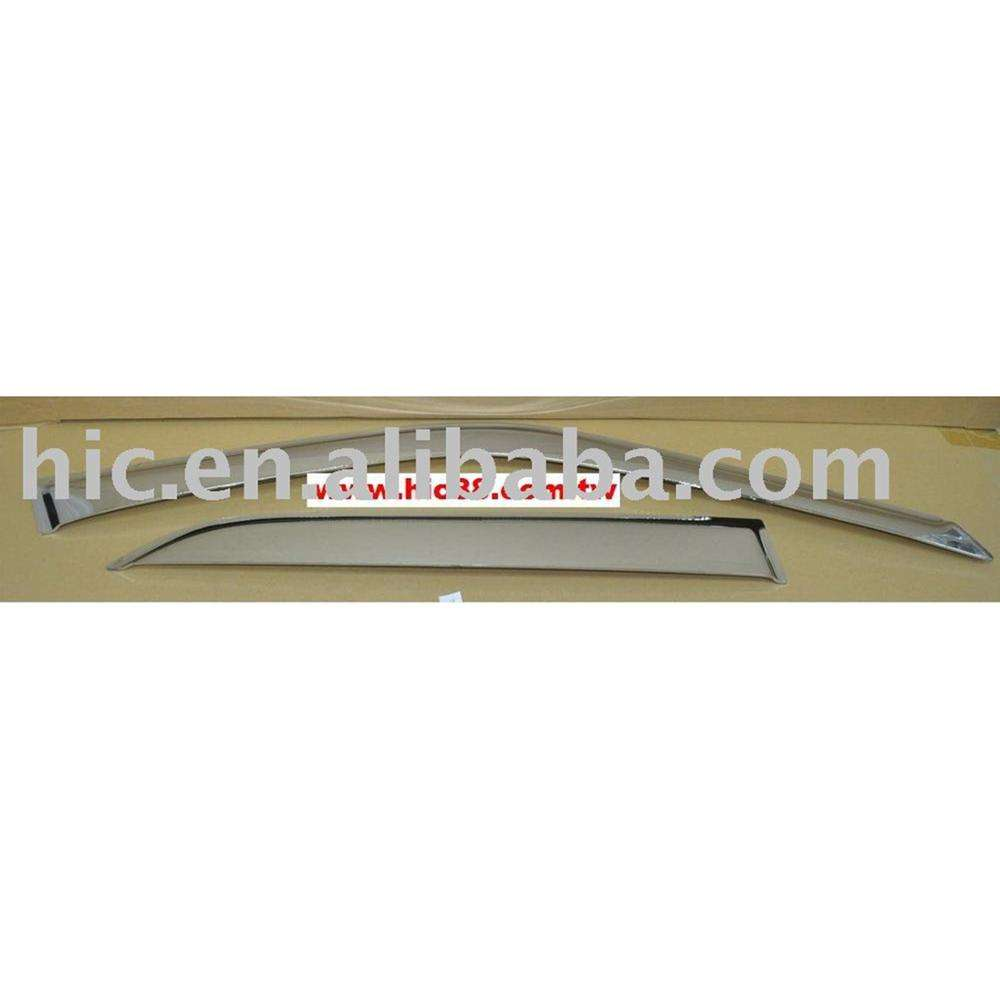 Chrome Trim Window Visors Guard Vent Deflectors For Toyota Carina T190 1992-1996