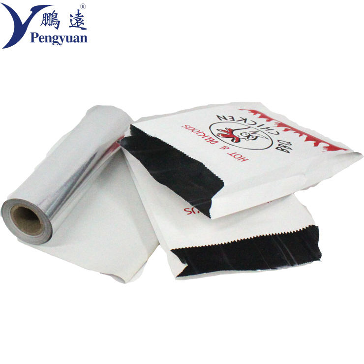 Poly Laminated Aluminium Foil Paper For Food Wrapping and Packaging