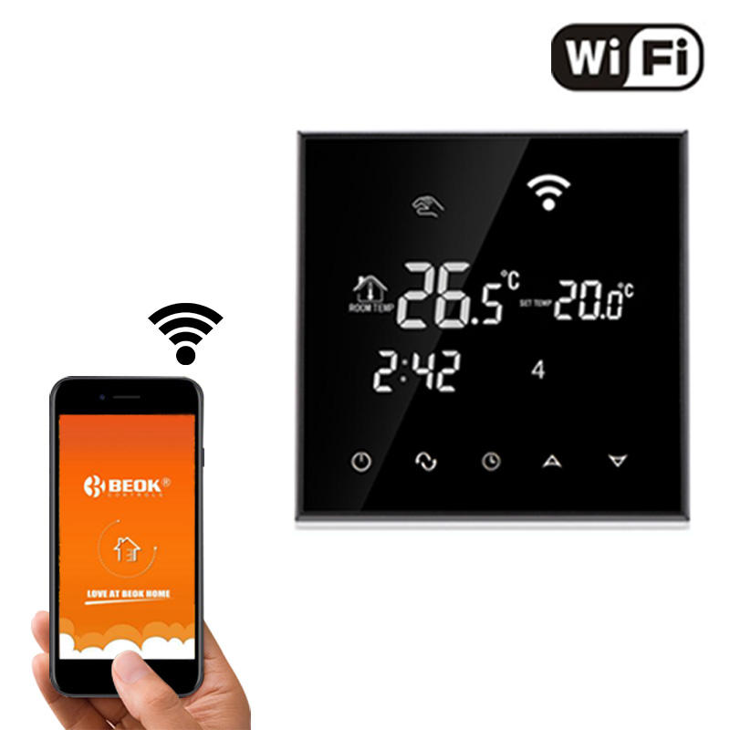 TGT70WIFI-EP Wireless Touch Screen Digital Room Wifi Thermostat with Phone Control