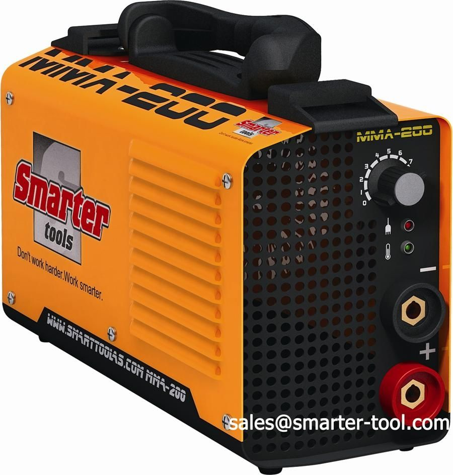 Smarter Tools OEM Acceptable Inverter MMA Portable Arc Welding Machine with CE