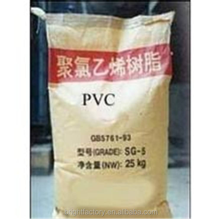 PVC BRIGHT manufacture, pvc resin SG3/SG5/SG7/SG8 PVC Resin with K Value