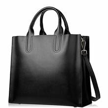 China Suppliers Lokass Genuine Leather Tote Handbags Ladies Hand Bags Handbags For  Women Shopping