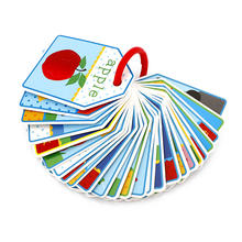 Custom Printing Educational Toys Memory Game Cards English Flashcards Children Playing Kids Match Cards