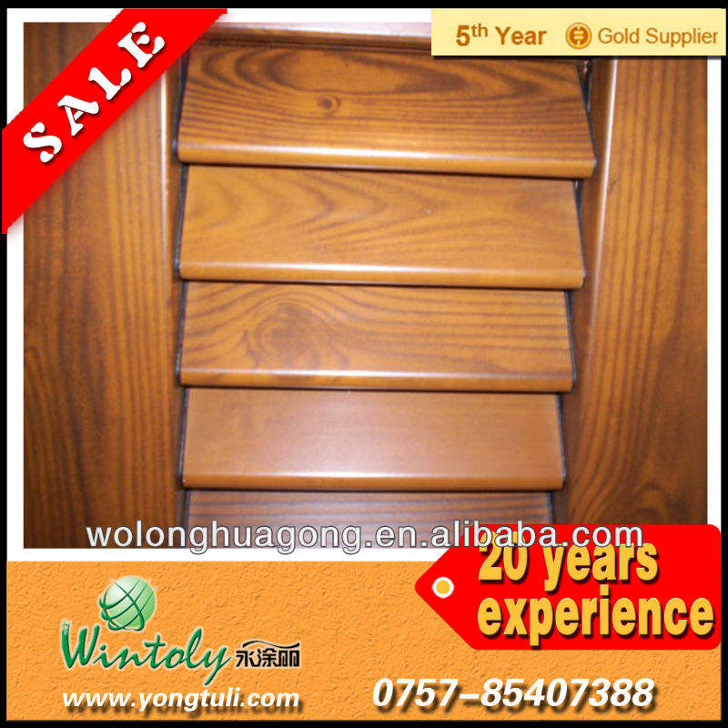 Wood Powder Coatings for Steel Window