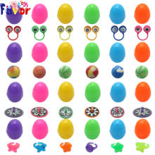 Wholesale 48PCS Surprise Plastic Easter Eggs with Toys Filled for Easter Eggs Hunt Game