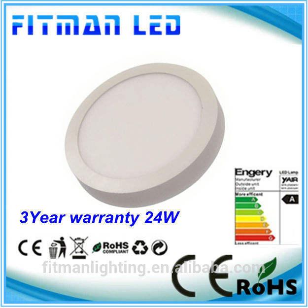хорошего качества профессиональной светодиодное освещение панель 300mm поверхностного монтажа панели сид 24w