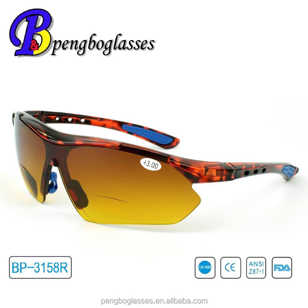2015 personalizzati sport occhiali bifocali