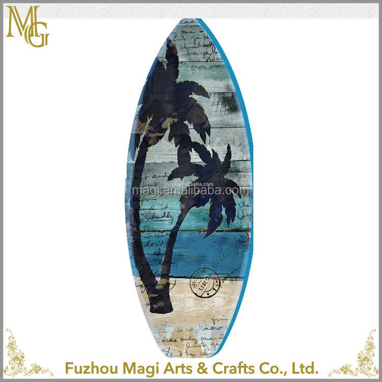 Vintage forme de planche de surf en <span class=keywords><strong>bois</strong></span> plaques murales <span class=keywords><strong>décor</strong></span> vintage