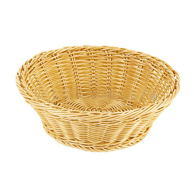 Round empty cheap willow wicker washable bread basket wholesale