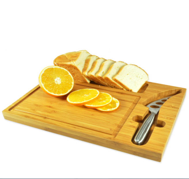 China Cheap Bamboo Wood Paddle Board Cheese Board Bamboo Cutting Board