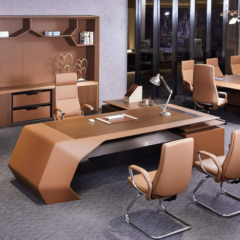 foshan office furniture new design luxury office desk modern office furniture ceo desk