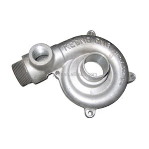 China oem auto factory supply customized cast aluminum turbo charger housing for VW