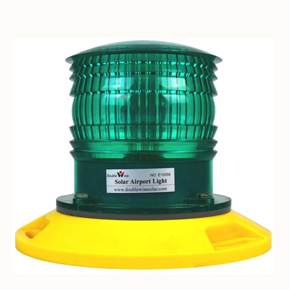 Douiblewise Groen Landing Perimeter TLOF verlichting Systeem Solar Led Luchthaven Heliport Licht