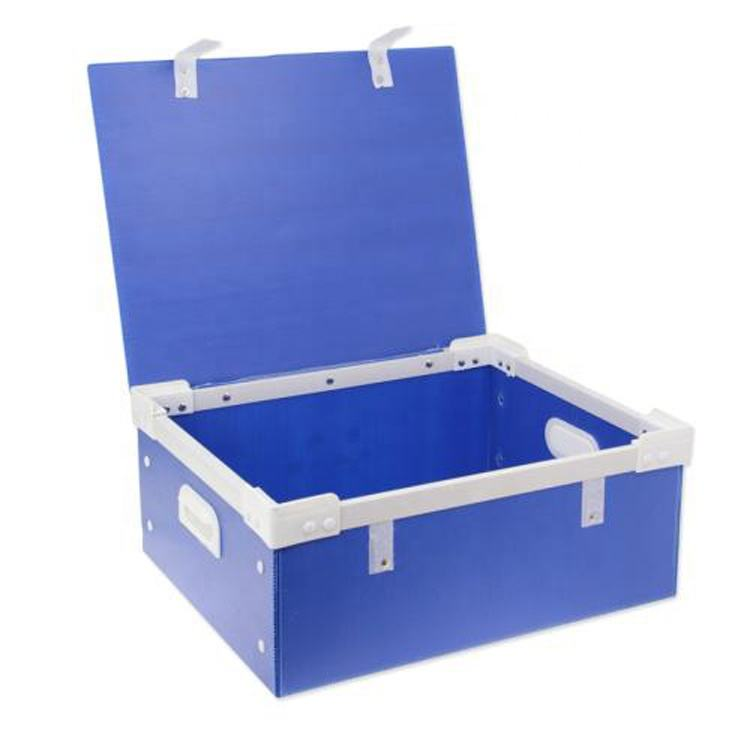 Top quality Polypropylene pp corrugated plastic turnover box
