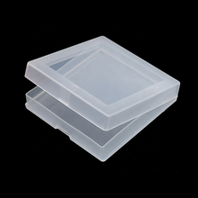 Frosted Plastic Box Hard Plastic Waterproof Foldable with Plastic Container and Flip Lid Seal Storage Box for Lighter