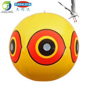 Professional Bird Scare Eye Inflatable Pvc Balloon for Bird Control