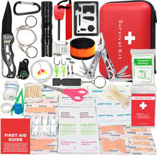 a first aid kit survival kit with handcase