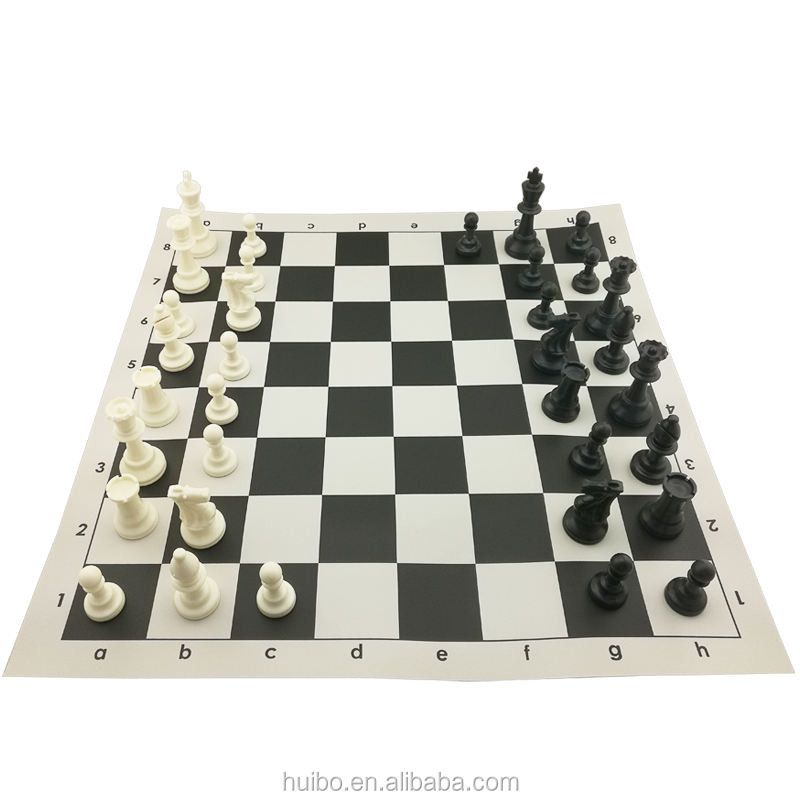 Chinese chess set plastic piece cheap chess game
