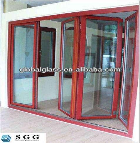 Partición de cristal de la puerta de la alta calidad templado fábrica proveedor de vidrio
