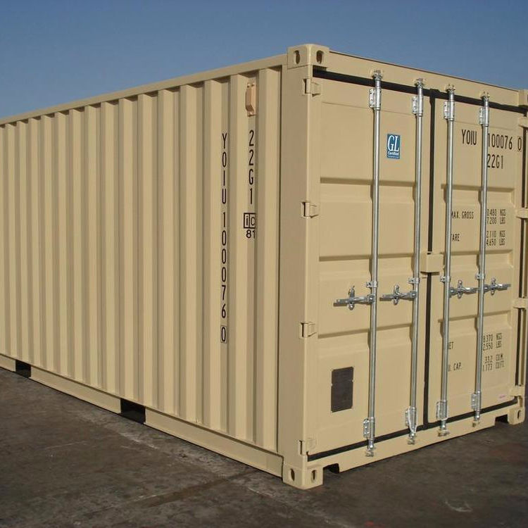used dry cargo container type 10ft 20ft 40ft steel container in stock in Shanghai