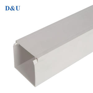 Pvc Cable Trunking Cover  Plastic Duct Cable