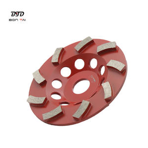 100 millimetri turbo diamante grinding cup wheel per bordo di cemento