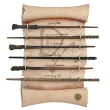Fast Shipment 88 models Wizard Harry Sticks Hermoine Cosplay Prop Magic metal core Wand with Boxes
