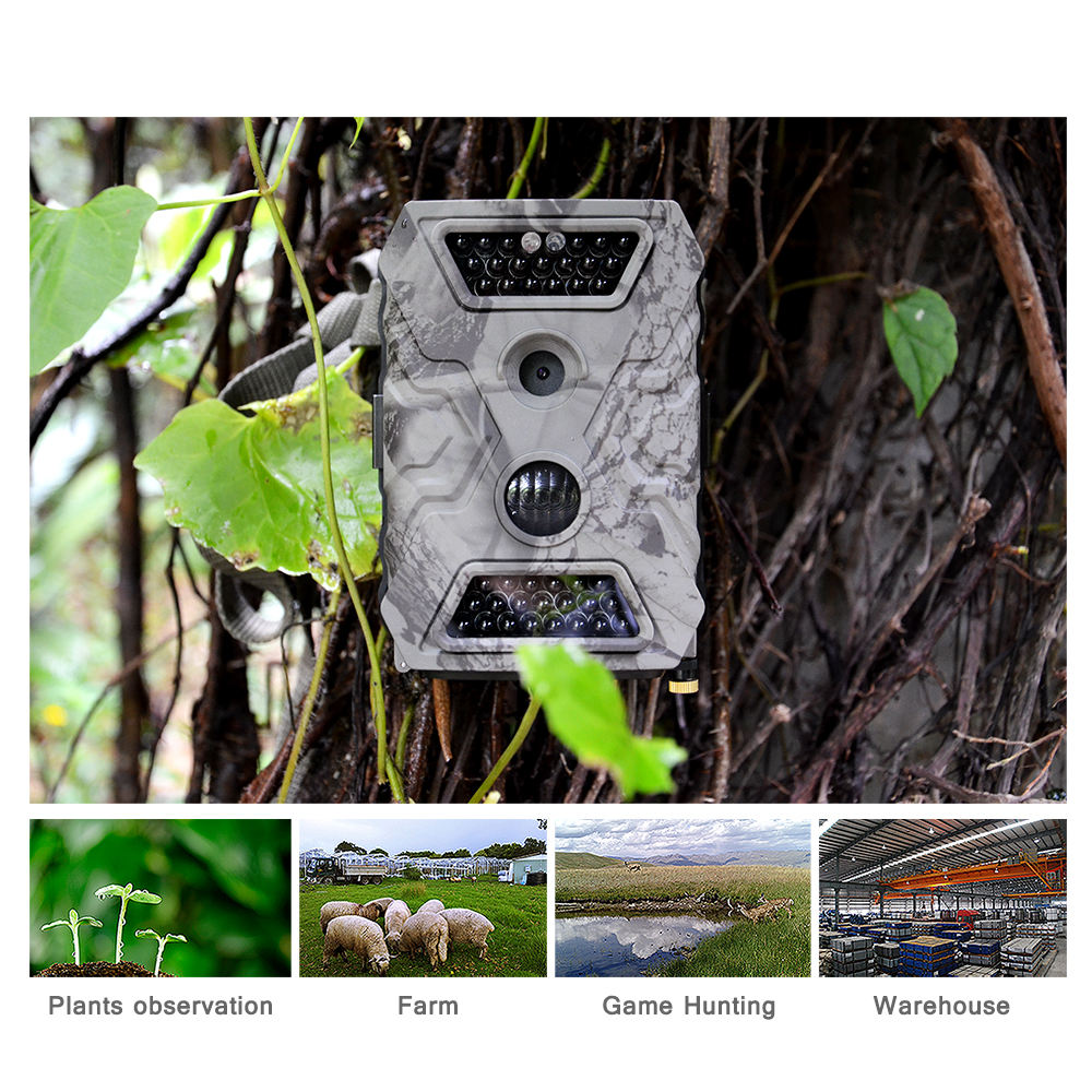 Trail Camera Manufacturer New Design Waterproof Hunting Trail Camera With 1080P GSM MMS SMS Wireless Game Scout Guard