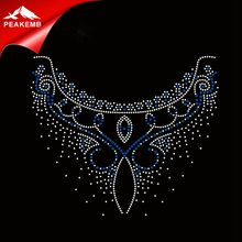 Beautiful Embellishments Wholesale Neckline Rhinestone Applique