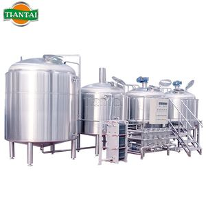 1000liter Stainless Steel Three Vessel Direct Fire Heating Brewery System nanobrewery beer system for sale