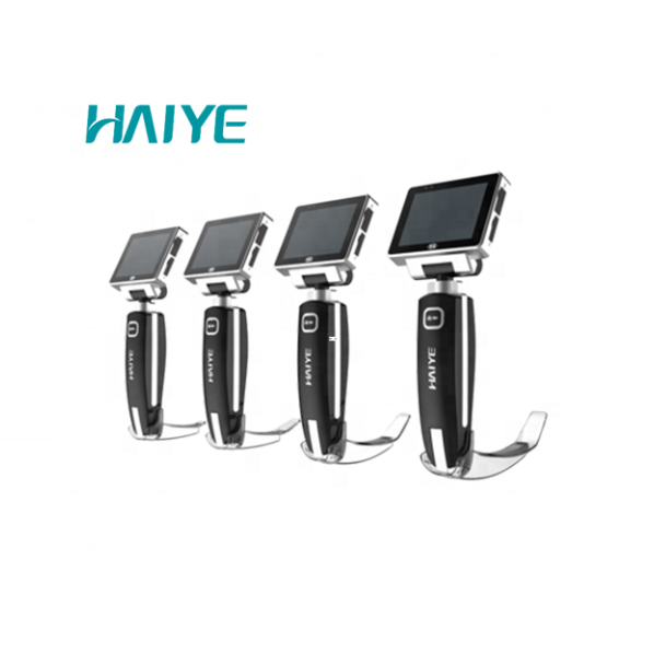 Medical device rechargeable lithium battery difficult airway intubation endoscope/video laryngoscope