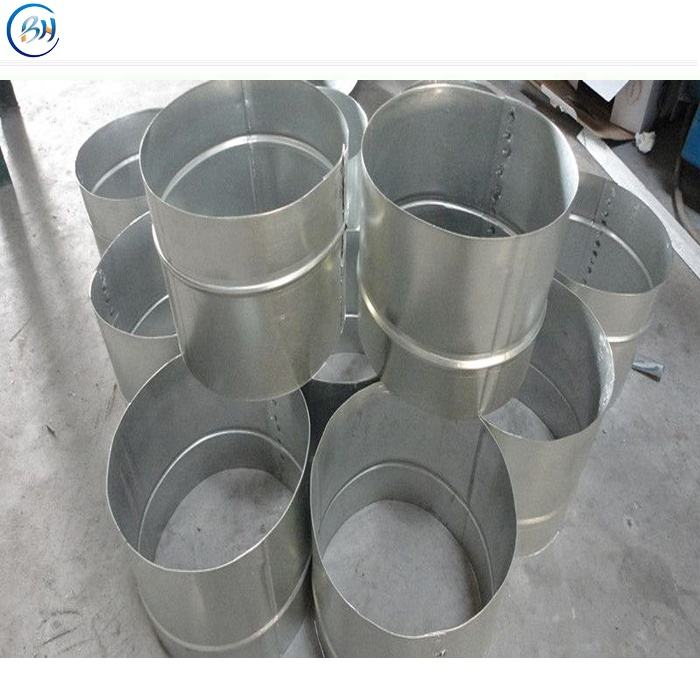 Hvac galvanized spiral air ducting and fittings supplier
