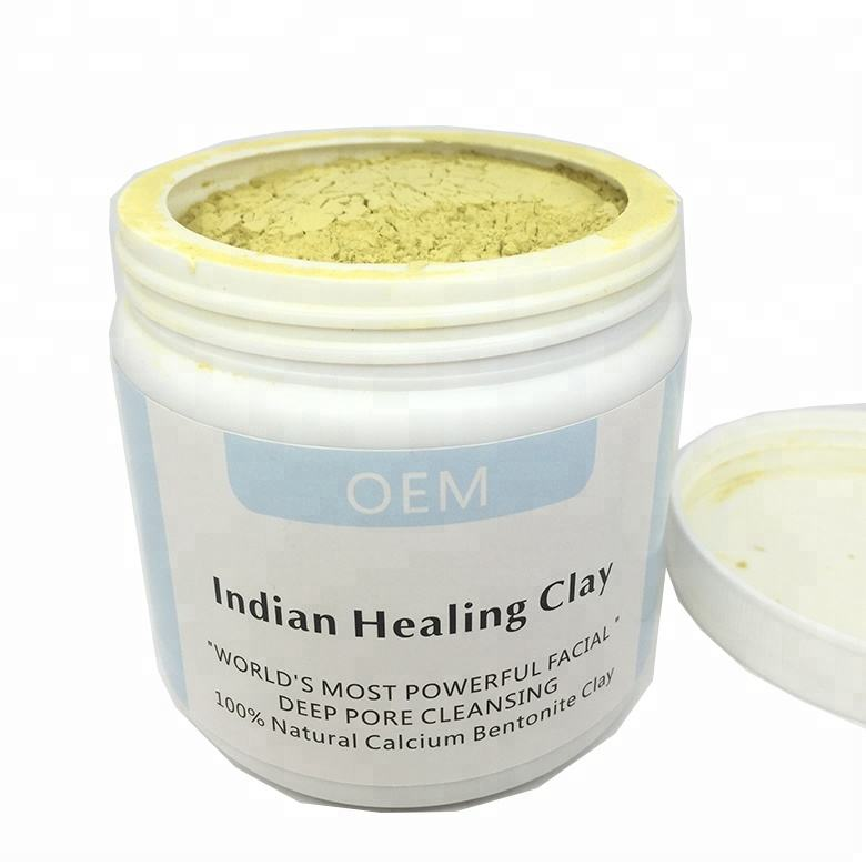 Amazon Hot Sell OEM Private Label Naturals orgnic Bentonite Indian Healing Clay