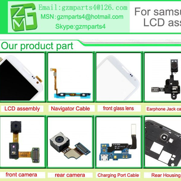 Repair Part LCD Screen for Samsung Galaxy Note 1 N7000 LCD Digitizer Display
