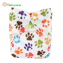 adult diaper in bulk printed Adjustable Reusable Baby Diapers