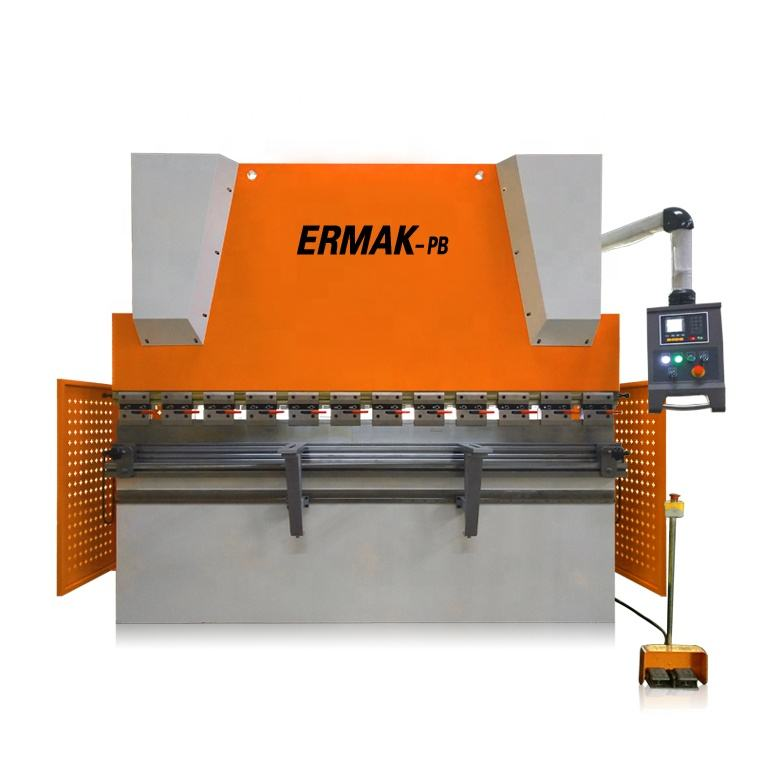 China high quality 2mm to 10mm sheet metal bending machine 2.5m steel metal CNC hydraulic servo press brake bender